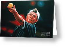 Lleyton Hewitt 2  Greeting Card by Paul Meijering