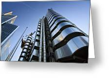 Lloyd's Building. Greeting Card
