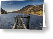Llyn Cowlyd Reservoir Greeting Card