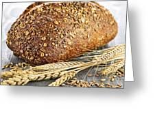 Loaf Of Multigrain Bread Greeting Card