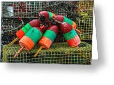 Lobstah Bouys Greeting Card