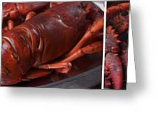 Lobster Greeting Card