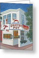Lobster Pot Greeting Card