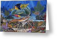 Lobster Sanctuary Re0016 Greeting Card