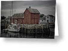 Lobster Shack - Rockport Greeting Card
