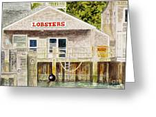 Lobster Shack Greeting Card