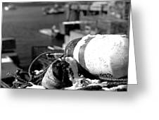 Lobster Traps 07 Greeting Card
