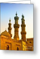 Local Cairo Mosque 05 Greeting Card