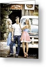 Local Country Store Pinup Greeting Card