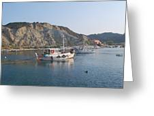 Local Fishing Boats Greeting Card
