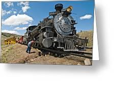 Locomotive Engineer Greeting Card