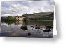 Loch-an-eilein Castle - D003341 Greeting Card