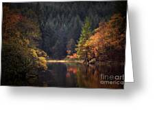 Loch Ard In The Fall Greeting Card