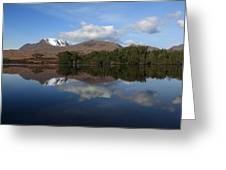 Loch Cul Dromannan Greeting Card