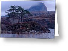 Loch Druim Suardalain Greeting Card