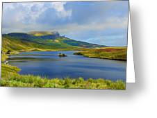 Loch Fada To The Storr Greeting Card