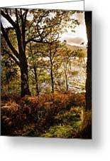 Loch Garry Greeting Card