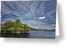 Loch Katrine Landscape Greeting Card