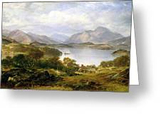 Loch Lomond, 1861 Greeting Card