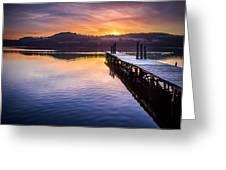Loch Lomond Dawn Greeting Card