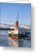 Loch Lomond Paddle Steamer Greeting Card
