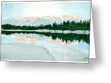 Loch Ossian Greeting Card