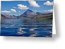 Loch Scavaig Greeting Card