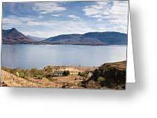 Loch Torridon Panorama Greeting Card