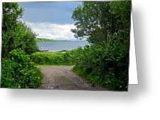 Lochaline Landscape Greeting Card