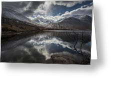 Lochan Urr Glen Etive Glencoe Scotland Greeting Card