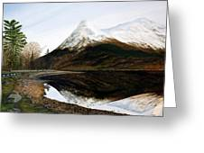 Lochleven Reflections Greeting Card