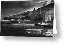 Lochranza Castle Greeting Card