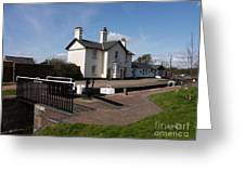Lock Cottages Greeting Card