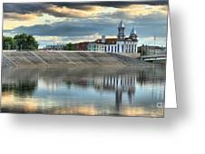 Lock Haven In The Susquehanna Greeting Card