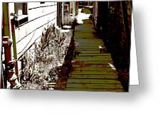 Locke Alley Way Greeting Card