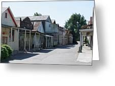 Locke Chinatown Series - Main Street - 1  Greeting Card
