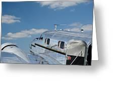 Lockheed Electra Jr. Greeting Card
