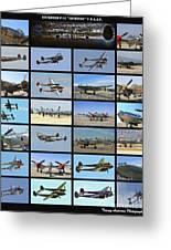 Lockheed P-38 Poster Greeting Card
