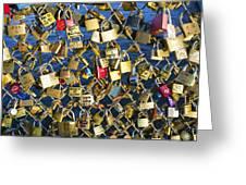 Locks Of Love Greeting Card