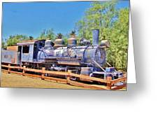 Loco In Death Valley Greeting Card