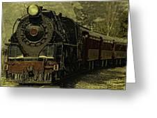 Locomotive 499  Greeting Card