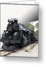 Locomotive 639 Type 2 8 2 Out Of Bounds Greeting Card