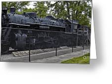Locomotive 639 Type 2 8 2 Side View Greeting Card