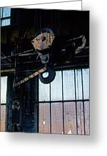 Locomotive Hook Greeting Card