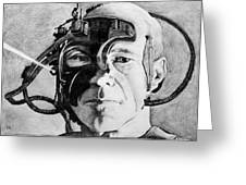 Locutus Greeting Card by Judith Groeger