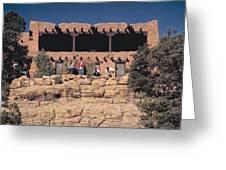 Lodge At Grand Canyon Greeting Card