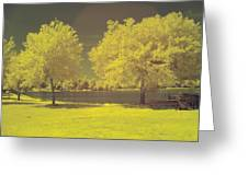 Lodge Lake 2 Greeting Card