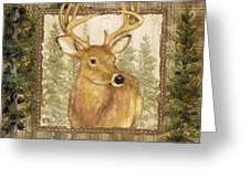 Lodge Portrait I Greeting Card by Paul Brent