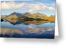 Lofoten Panorama Selfjorden Norway Greeting Card