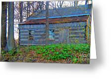 Log Cabin Revisited Spring 2014 Greeting Card